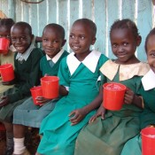 #fillthecup and feed hungry, learning children worldwide
