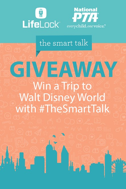 Pinterest Graphic - The Smart Talk with LifeLock logo