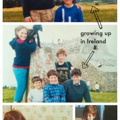 growing up in Ireland